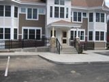 Front Entrance Guardrails And Stair Handrails