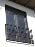 Aluminum Window Guardrail