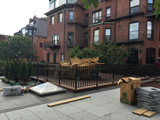 Ornamental Iron Guardrails For Roof Deck