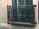 Wrought Iron French Balcony
